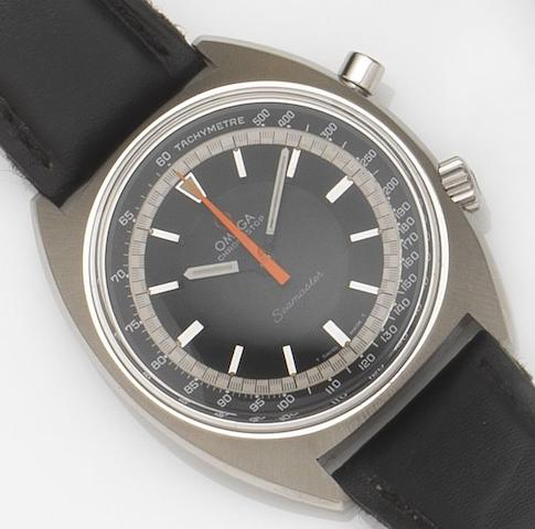 Omega. A stainless steel manual wind chronograph wristwatchSeamaster Chronostop, Ref:145.007, Movement No.25848421, Circa 1967