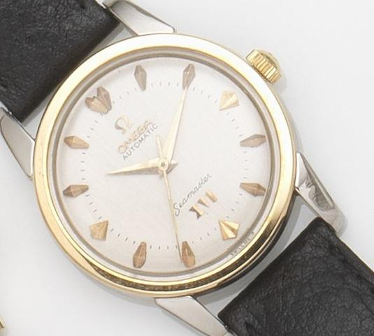 Omega. A stainless steel automatic centre seconds wristwatch Seamaster, Ref:2849-2, Movement No.15525166, Circa 1956