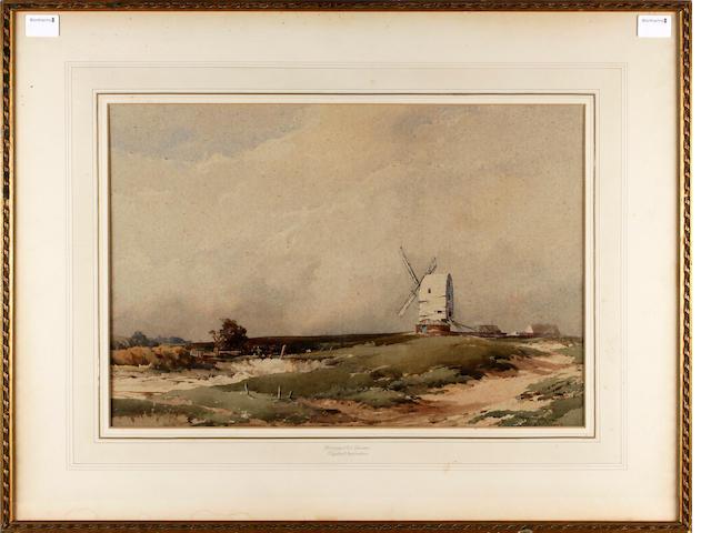 Charles Harrington (British, 1865-1943) Ringmer Mill, Sussex