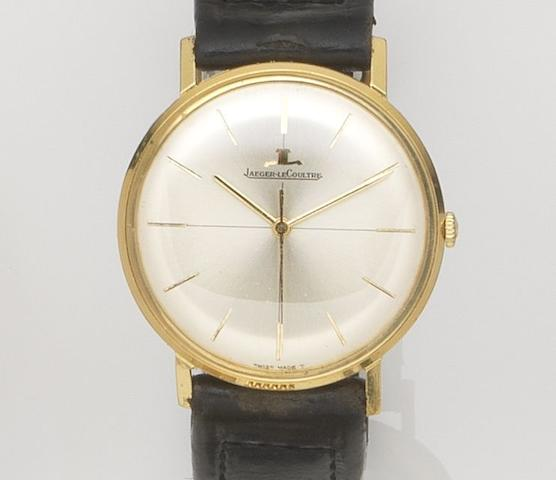 Jaeger-LeCoultre. An 18ct gold manual wind centre seconds wristwatchRef:2285, Case No.980774, Movement No.1689587, Circa 1960