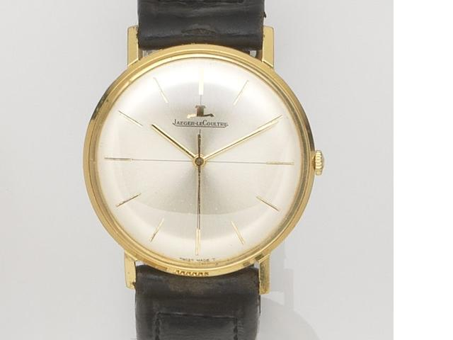 Jaeger-LeCoultre. An 18ct gold manual wind centre seconds wristwatch Ref:2285, Case No.980774, Movement No.1689587, Circa 1960