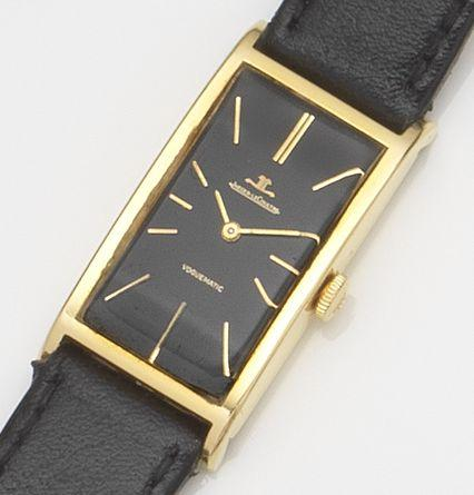 Jaeger-LeCoultre. An 18ct gold automatic wristwatch Voguematic, Ref:22004, Case No.1091605, Movement No.1847252, Circa 1967