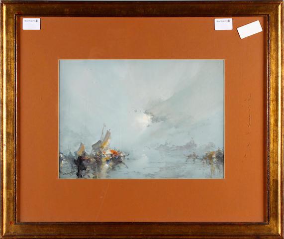 Frank Wasley (British, 1854-1934) Venetian view