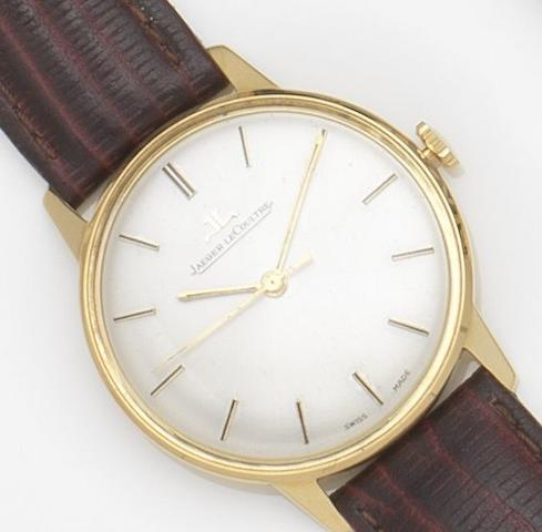 Jaeger-LeCoultre. An 18ct gold manual wind wristwatchRef:20002, Case No.1131891, Movement No.1042462, Circa 1960