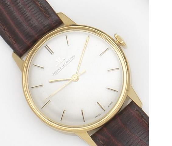 Jaeger-LeCoultre. An 18ct gold manual wind wristwatch Ref:20002, Case No.1131891, Movement No.1042462, Circa 1960