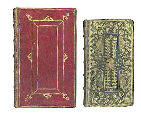 BINDINGS La liturgie ou formulaire des prieres publiques, 1705; and 3 others (4)