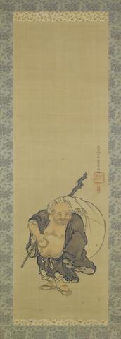 Hasegawa Settan (1778-1843) and style of Kawanabe Kyosai Mid 19th century