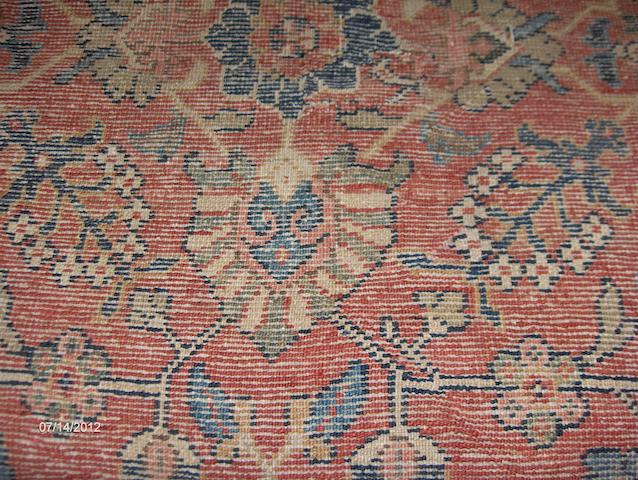 A North West Persian Carpet 331cm x 301cm.