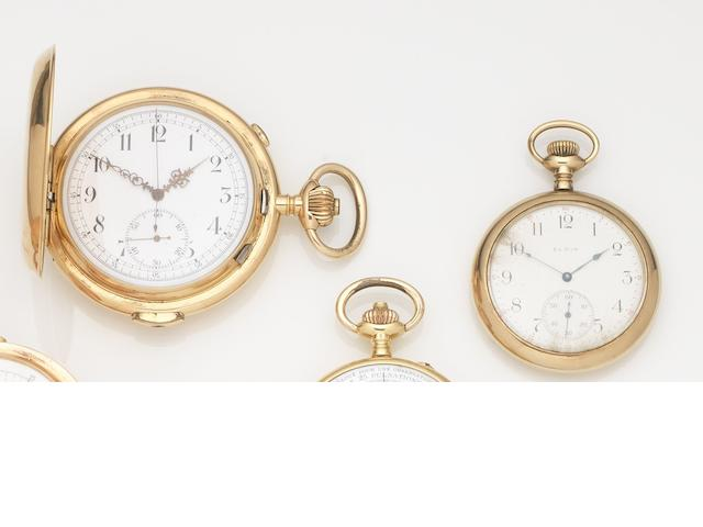 A lot of two various pocket watches