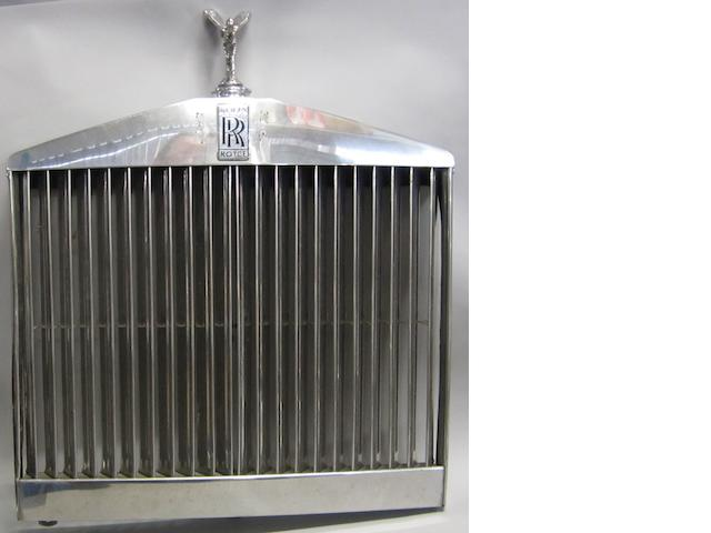 Rolls Royce Grille and mascot