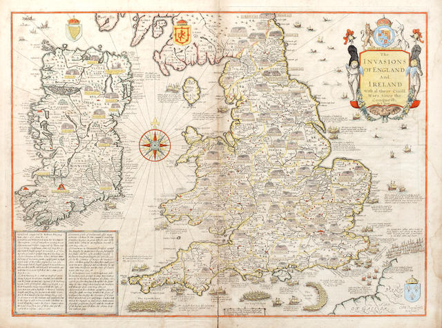 BRITISH ISLES SPEED (JOHN), The Invasions of England and Ireland with al their Civil Wars since the Conquest