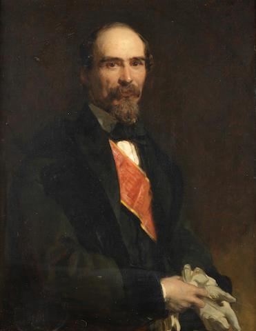John Prescott Knight (British, 1803-1881) Portrait of Marshall Ramon Cabrera, El Tigre del Maestrazgos