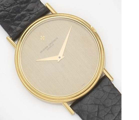 Vacheron Constatin. An 18ct gold manual wind wristwatch Case No.515012, Circa 1970