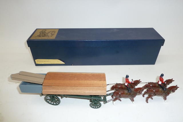 New Toy Soldiers: RARE Blenheim Royal Engineers Pontoon Section 114