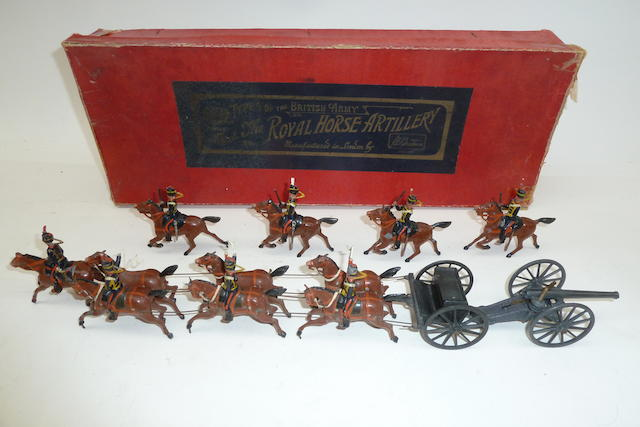 Britains set 39, Royal Horse Artillery Gun Team 84
