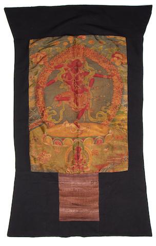 A Tibetan or Himalayan Thankha