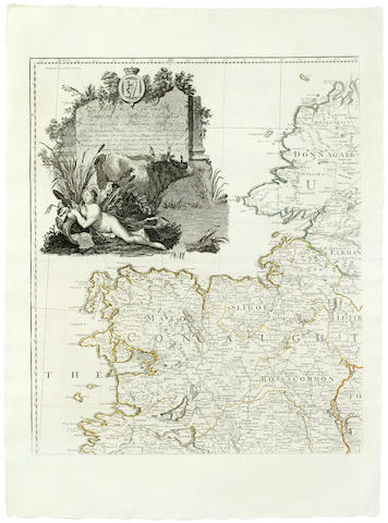 IRELAND ROCQUE (JOHN) A Map of the Kingdom of Ireland