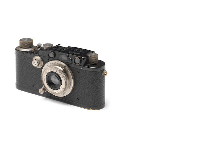 Leica III black paint 50 Elmar