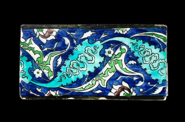A Syrian tile