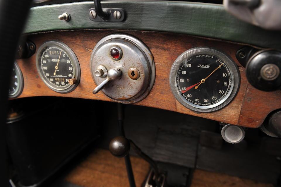 The ex- Leonard Headlam, Tourist Trophy and Irish Grand Prix Team Car,1929 Alfa Romeo 1750 SS Competition Tourer  Chassis no. 0312906 Engine no. 0312906
