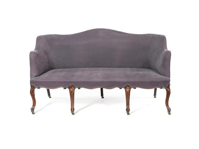 A George III sofa
