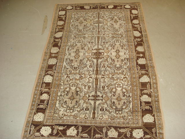 An Agra rug, North India, 205cm x 120cm