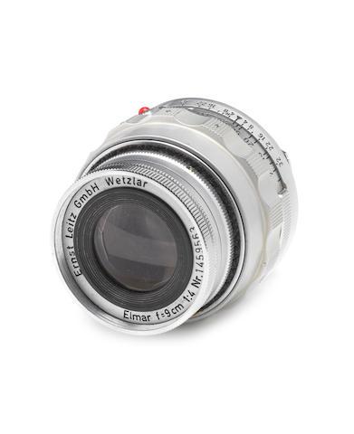 Elmar 9cm f4 lens