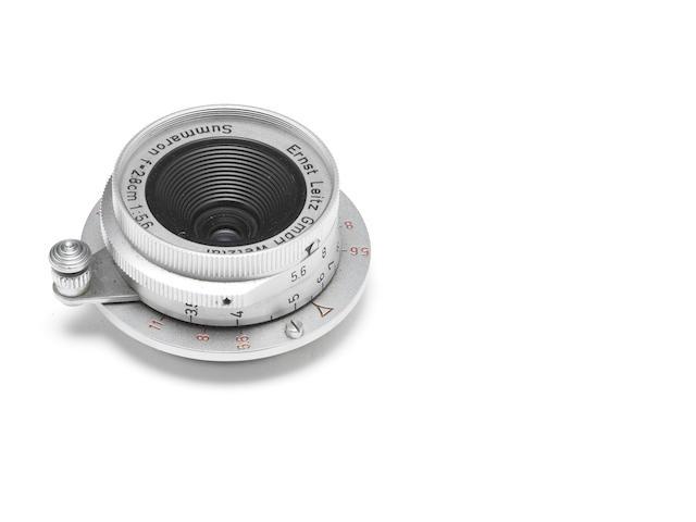 Summaron 2.8cm f5.6 lens