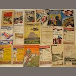 A collection of Brooklands pre-War race programmes,