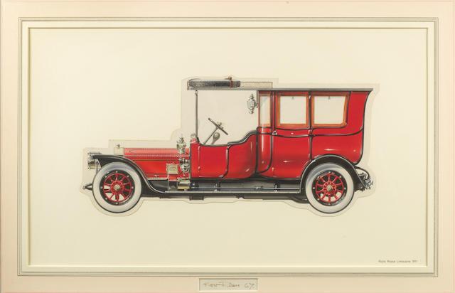 Ken Rush (1931- ): 1911 Rolls-Royce Limousine,