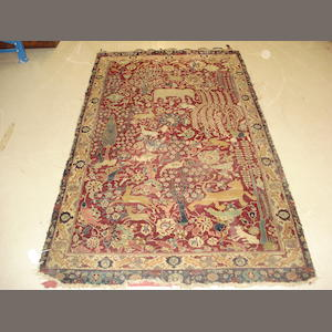 An Agra rug, North India, 227cm x 129cm