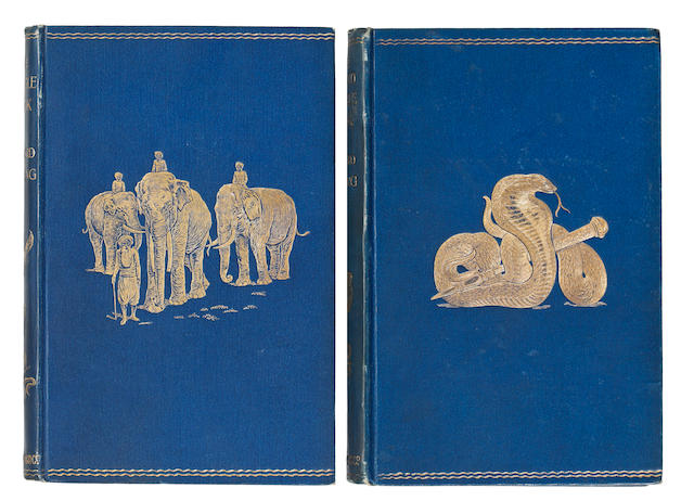 KIPLING (RUDYARD) The Jungle Book; The Second Jungle Book, FIRST EDITIONS, 1894-1895