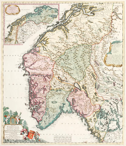 SCANDINAVIA, L'ISLE (GUILLAUME DE), c.1740; and 2 others (3)