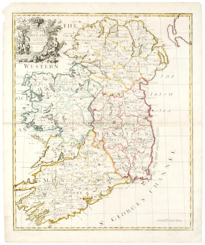 IRELAND SENEX (JOHN), A  New Map of Ireland