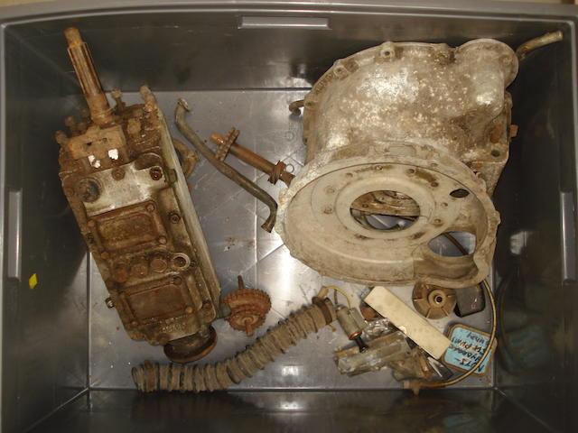 A Aston Martin gearbox, 1950s,