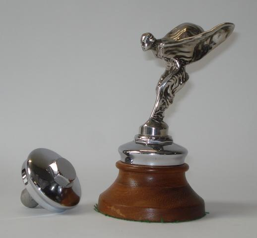A post-War Rolls-Royce Spirit of Ecstasy mascot,
