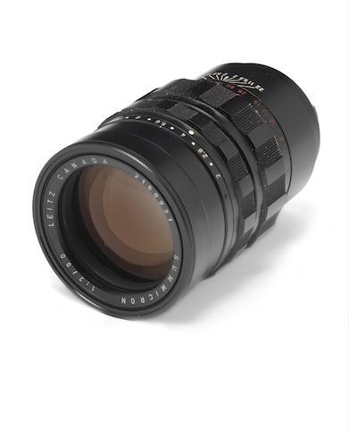 Summicron 90mm f2 lens