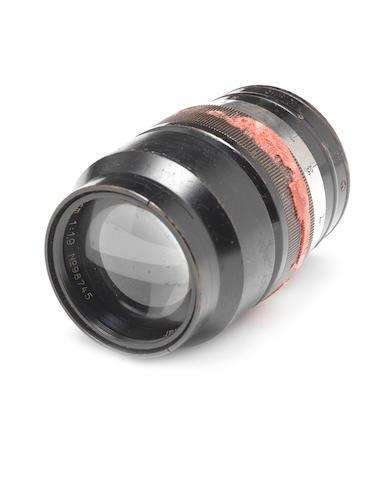 Hektor 7.3cm f1.9 lens,