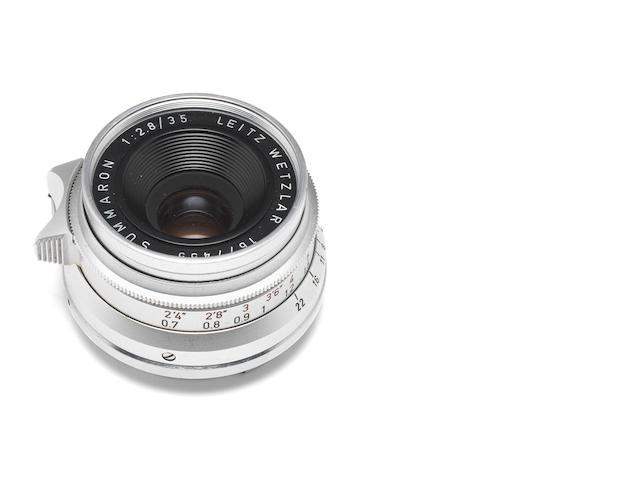 Summaron 35mm f2.8 lens