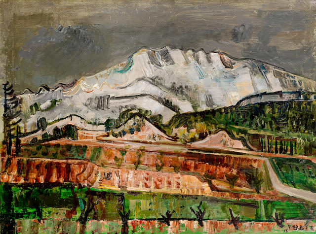 David Peretz (French, 1906-1982) Paysage de montagne