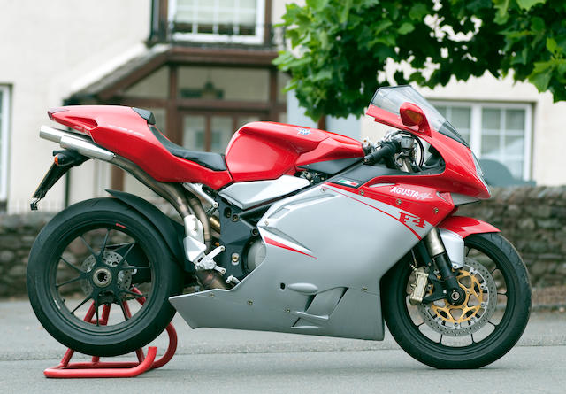 One owner, less than 500 miles from new,2009 MV Agusta 998cc F4 1000RR 312 Frame no. ZCGF511BB8V007349 Engine no. F5A708489W