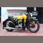 c.1945 BSA 591cc M21 Motorcycle Combination Frame no. XM20 147 Engine no. XM21 4770