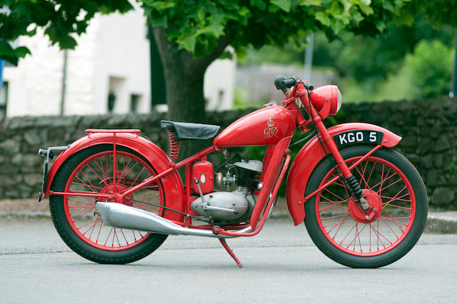 c.1952 BSA 123cc Bantam D1 'GPO' Frame no. YD1 10005 Engine no. YD1 10005