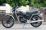 1981 Triumph 744cc T140V 'Royal Wedding' Bonneville Frame no. HDA 30840 Engine no. HDA 30840