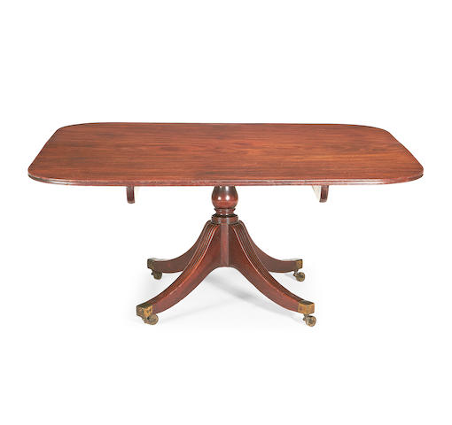 A George III mahogany breakfast table