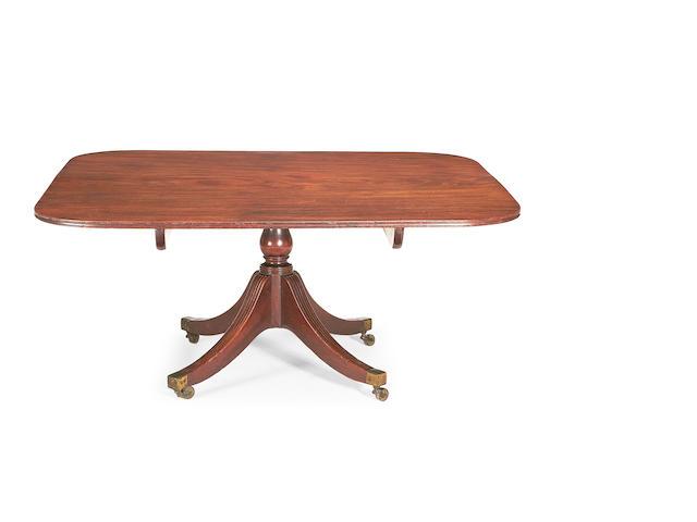 A George III mahogany breakfast table