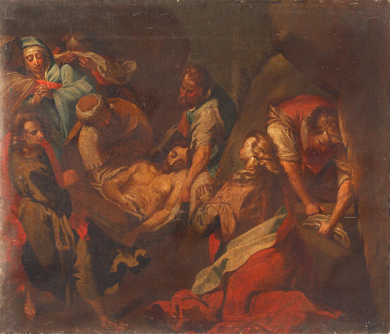Italian School, 18th Century The Pieta (unframed)