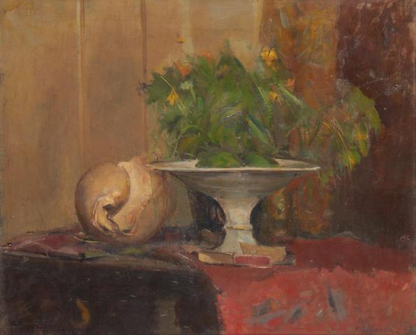Rodrigo Moynihan (British, 1910-1991) Still life