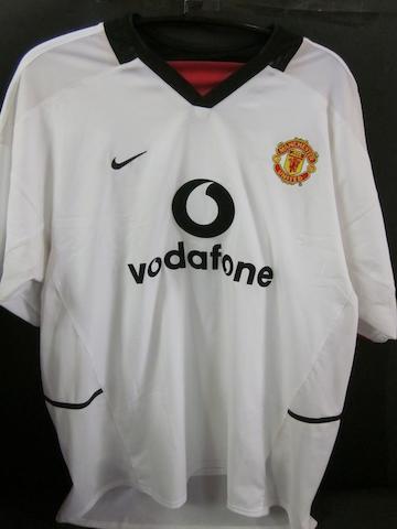 2002/03 Ruud van Nistelrooy match worn shirt