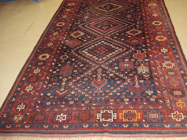 A Kurdish rug, West Persia, 336cm x 193cm